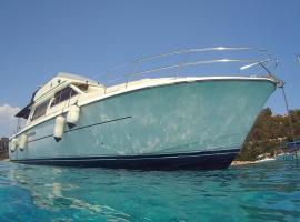 Blue II Yacht, boat in Àrbatax
