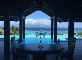 Villa BellaVista, hotel perto de Campo de golfe Moorea Green Pearl, Teavaro