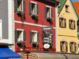 Hotel Gasthof Kirchenwirt, отель в Шладминге