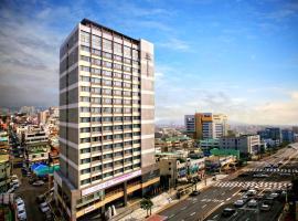 Hotel Shalom Jeju, hotel in Jeju