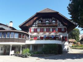 Hotel Bären Bern-Neuenegg, maison d'hôtes à Neuenegg
