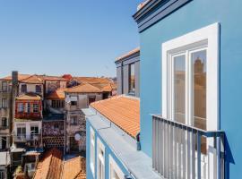 Amazing Penthouse Apartment in historic Porto, hotel near Sao Bento Train Station, Porto