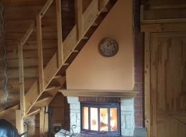 Viesnīca Brīvdienu māja Zābaciņi Cēsīs, netālu no apskates objekta Zagarkalns Ski Lift 1