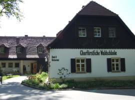 Churfuerstliche Waldschaenke, Hotel in der Nähe von: Barockschloss und Fasanenschlösschen Moritzburg, Moritzburg