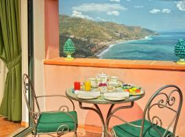 La Pensione Svizzera, hotel en Taormina