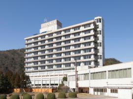 三朝ロイヤルホテル、三朝町のホテル