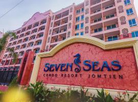 7 Seas Condo by Thitipong อพาร์ตเมนต์ในหาดจอมเทียน