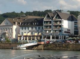 Hotel Rheinlust, Hotel in Boppard