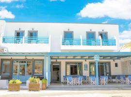 Delfini Hotel, hotel a Skála