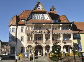 Amadeus Boutique Hotel Deutscher Hof, Hotel in Georgenthal