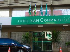 Oft San Conrado Hotel, hotel em Goiânia