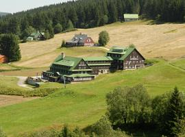 Horský hotel Žižkova bouda, отель в городе Пец-под-Снежкой