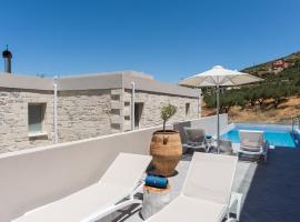 New Luxury Villa Galateia with Pool, 1km to Beach & Restaurant, hotel in Falasarna