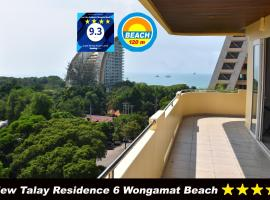 View Talay Residence 6 Wongamat Beach, apartment in North Pattaya