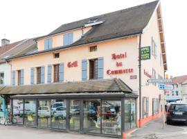 Hotel du Commerce, hôtel à Pouilly-en-Auxois