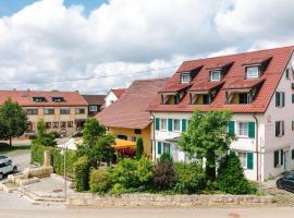 Köhlers Krone, hotel in Ehingen