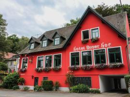 Hotel-Restaurant Buger Hof, guest house in Bamberg