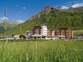 Alpenromantik-Hotel Wirlerhof, отель в Гальтюре