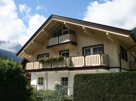Domizil Zillertal, apartment in Mayrhofen