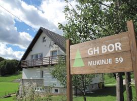 Guesthouse Bor Plitvice Lakes, hotel poblíž významného místa Jezerce - Mukinje autobusnog stajališta, Plitvická jezera