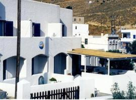 Naias, hotel in Livadi