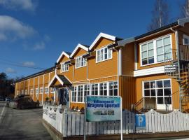 Kragerø Sportell & Apartments, beach hotel in Kragerø