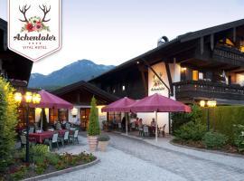 DEVA Achentaler Vitalhotel, Hotel in Unterwössen
