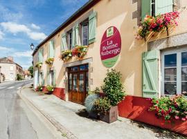 La Bonne Auberge、Nouzerinesのホテル