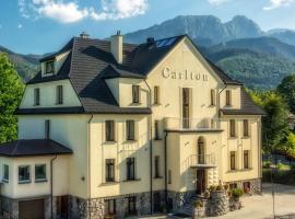 Willa Carlton, ubytovanie bed and breakfast v Zakopanom