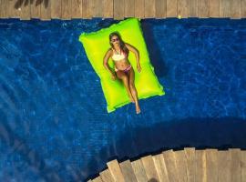 Pipe Dream Villas Resort, three-star hotel in Kuta Lombok