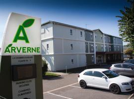 Brit Hotel Essentiel Arverne - Clermont-Ferrand Sud, hotel near Clermont-Ferrand Auvergne Airport - CFE, Aubière