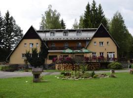 Penzion Gaudeamus, hotel v Milovech