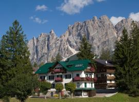 Hotel Meuble Oasi, hotel a Cortina d'Ampezzo