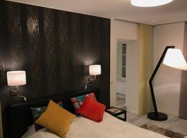 New flat in old town+garage, Ferienwohnung in Steyr