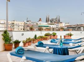 Hotel Best Aranea, hotel poblíž významného místa Sagrada Familia, Barcelona
