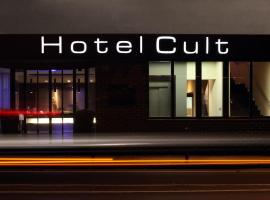 Hotel Cult Frankfurt City, отель во Франкфурте-на-Майне