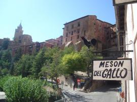 Hotel Mesón del Gallo, hotel in Albarracín