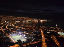 Departamento Mondaca Vista Mar, apartamento en Valparaíso