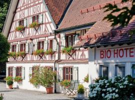 BIO-Hotel Adler/Restaurant, Hotel in Vogt