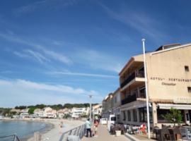 Hotel Chanteplage, hotel in Saint-Cyr-sur-Mer
