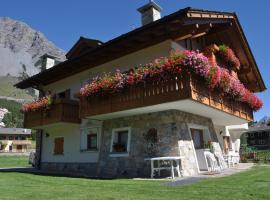 Chalet Bormio Stelvio, hotel poblíž významného místa Terme di Bormio – Bagni Nuovi, Valdidentro