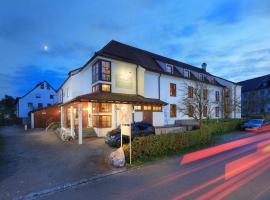 Hotel Garni Gästehaus am Mühlbach, hotel in zona Aeroporto di Memmingen - FMM, Ottobeuren