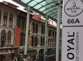 Royal Lodge @ Pagoda Street, hostel in Singapore