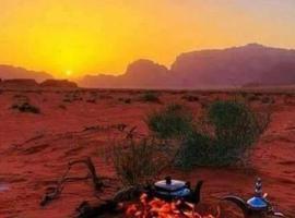 Wadi Rum Beduland Camp, luxury tent in Wadi Rum