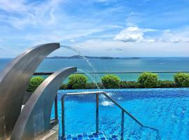 The Peak Towers Sea View, apartment in Pattaya South