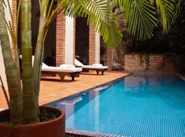 Hotel el Candil De Los Santos, hotel in Cartagena de Indias