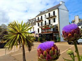 Hotel du port, hôtel à Locquirec