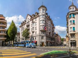 Hotel Drei Könige, hotel near Swiss Museum of Transport, Lucerne