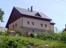 Chata Albrechta, hotel poblíž významného místa Špičák II - Dětský vlek, Albrechtice v Jizerských horách