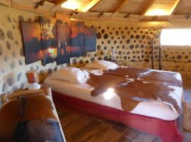 Case-Eco (case africaine grand confort), farm stay in Bargème